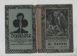Couverture De Livre Dardel Librairie Des Portiques Chambéry  Publicité Valisère - Alte Papiere