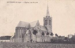 Dottignies St Leger, L'Eglise Vue Du Côté (pk36688) - Mouscron - Moeskroen