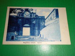 Cartolina Anguillara Sabazia - Ingresso 1925 Ca - Roma