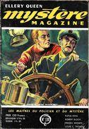 Mystère Magazine 130, Novembre 1958 (BE+) - Opta - Ellery Queen Magazine
