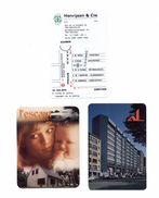 3 Kalenders Van Verzekeringen (type Bankkaart) - Non Classés
