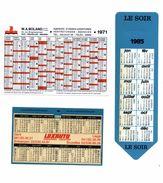 3 Kalenders Van Bedrijven - Calendriers
