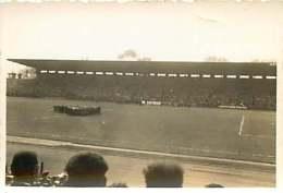 190617 - PHOTO FOOT - COLOMBES 1935 Match Coupe De FRANCE Rennes Contre Marseille Président - Voetbal