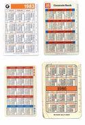 8 Kalenders Van Belgische Banken - Calendriers