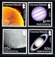 "Cayman Islands   ""Astronomy""   Set   (new Issue)  June-2-2017   MNH - Cayman Islands"