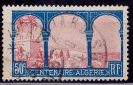 Centenaire - Algerie 1929, View Of Algiers, 50c, Scott#255, Used - France