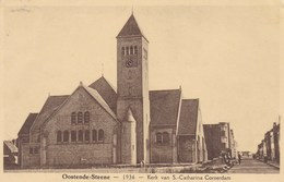 Oostende, Steene, Stene, 1936, Kerk Van S Catharina, Conterdam (pk36719) - Oostende