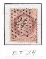 Etoile 24 Sur 51 - Marcophilie (Timbres Détachés)