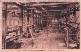 Italie, Viareggio Sawing Mill, Societ à Marmifera Nord Carrara (301125) Plis D'angles - Viareggio