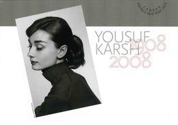 "Entier Postal De 2008 Sur CP Avec Timbre Et Illust. ""Audrey Hepburn 1956"" - 1953-.... Regering Van Elizabeth II"