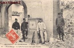 REVOLUTION EN CHAMPAGNE AY MAISON BISINGER COFFRE-FORT VITICULTURE MANIFESTATION AGRICOLE MARNE VIN - Ay En Champagne