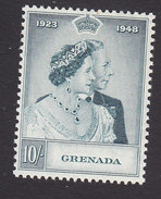 Grenada, Scott #146, Mint Hinged, Silver Wedding, Issued 1948 - Grenada (...-1974)