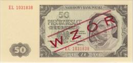 POLAND 1948 50 Zl WZOR EL 1031838 Uncirculated - Pologne