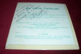 FOLKLORE CATALAN  ° MAX HAVART  COBLA PRINCIPAL DE GERONA  3 TITRES AVEC AUTOGRAPHE  POCHETTE AVEC ILLUSTATION DE PICASO - Collections Complètes