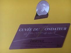 4298 -  Ermitage 1992 Caves Orsat Martigny Cuvée Du Fondateur Valais Suisse - Etiquettes