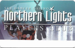 Sky Dancer Casino - Belcourt, ND USA - 2nd Issue Slot Card - ACC Over Mag Stripe (BLANK) - Carte Di Casinò