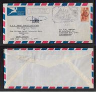 S.Africa; 1977  Private Cover -  Visit Of Chilean Naval Ship ESMERELDA > S.Africa, Posted MOMBASA 1 APR - South Africa (1961-...)