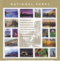 USA 2016 National Parks Centional Mountains Landscape Bird Flower Buffalo MNH ** - Neufs