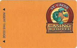 St. Croix Casino - Turtle Lake, WI USA - Slot Card BLANK - Casino Cards