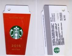 China 2015 Starbucks Card Starbucks Cup Gift Cards RMB200 - China