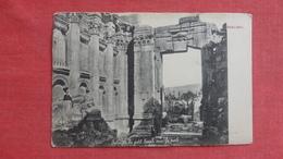 Syria Baalbek  Temple  -ref-2612 - Syria