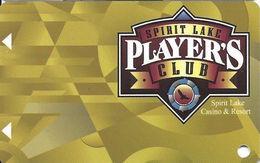 Spirit Lake Casino - Spirit Lake, ND USA - BLANK Slot Card - Full Width Text On Back - Casino Cards