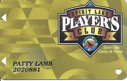 Spirit Lake Casino - Spirit Lake, ND USA - Slot Card - Full Width Text On Back - Casino Cards