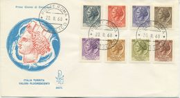ITALIA - FDC  VENETIA 1968 - SIRACUSANA - 6. 1946-.. Repubblica