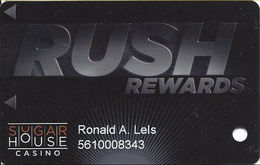 Sugar House Casino - Philadelphia, PA - 1st Issue Slot Card - Casino Cards