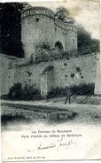 Environs De Beaumont Porte Entrée Chateau De Barbencon - Petite Animation - 1902 - Beaumont