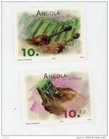 Angola 2001-Instruments De Musique-YT 1505/6***MNH - Angola