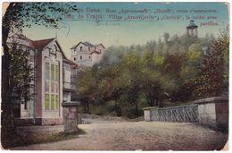 7905 Serbia, Vrnjci Bad, Postcard Mailed 1911: Arnovljevits And Caritch Villas - Serbie