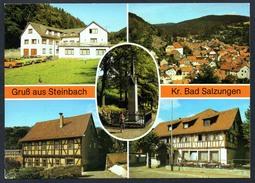 A5026 - Alte MBK Ansichtskarte - Steinbach Kr. Bad Salzungen - Denkmal FDGB Heim Volkshaus - Richter - TOP - Bad Salzungen