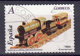 Trein, Train, Locomotive, Eisenbahn: Spanje 2007 Mi Nr 4187 - Trains