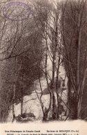 ENVIRONS DE BESANCON BEURE LA CASCADE DU BOUT DU MONDE GELEE JANVIER 1917 TBE - Besancon