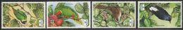 2003 Fiji  Bird Life International Lorikeet Warbler Oiseaux  Complete Set Of 4  MNH - Fiji (1970-...)