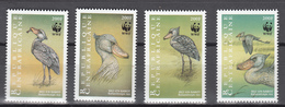Central African Republic 1999,4V,WWF,Bec-en-sabot,birds,vogels,vögel,oiseaux,pajaros,uccelli,aves,,MNH/Postfris(A3373) - Vogels