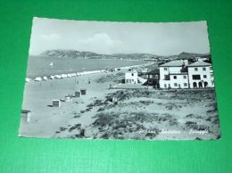 Cartolina Misano Adriatico - Spiaggia 1954 - Rimini