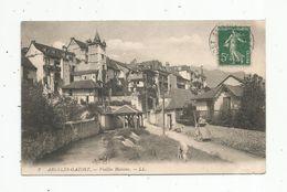 Cp , 65 , ARGELES GAZOST , Vieilles Maisons , Voyagée - Argeles Gazost