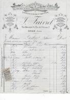 39.- DOLE .- FAIVRET .- Bonneterie , Mercerie, Chaussures - Kleidung & Textil