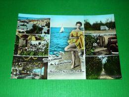 Cartolina Miramare - Riviera Di Rimini - Maximum Camping 1960 Ca - Rimini