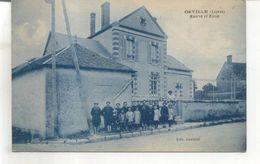 Orville, Mairie Et Ecole - France