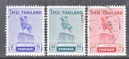 THAILAND  312-14    (o)     KING'S  STATUE - Thailand