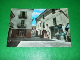 Cartolina Chiusa Pesio - Piazza Cavour 1966 - Cuneo