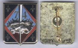 Insigne Du 74e Régiment D'Infanterie - Armée De Terre