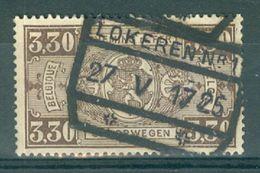 """BELGIE - TR 155  - Cachet  """"LOKEREN Nr 1"""" - (ref. 13.189) - Ferrocarril"""