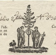 Héraldique Colmar An 7 - Manuscritos