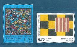 France  Timbre De 1994  N°2858 Et 2859 Neuf ** Prix De La Poste - Unused Stamps