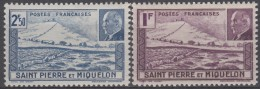 N° 210 Et N° 211 - X X - ( C 101 ) - St.Pierre Et Miquelon
