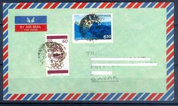 D758- Postal Used Cover. Posted From India To Pakistan. (PKR) Mountains. - India